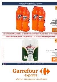Gazetka promocyjna Carrefour Express - Gazetka promocyjna Carrefour Express - ważna do 25-05-2020