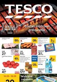 Gazetka promocyjna Tesco Centra Handlowe - Promocje na grill w Tesco! - ważna do 20-05-2020