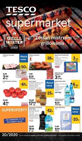 Promocje w sklepach Tesco Supermarket