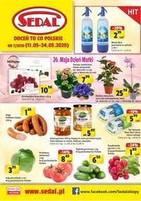 Gazetka promocyjna Sedal - Promocje w sklepach Sedal - ważna do 24-05-2020