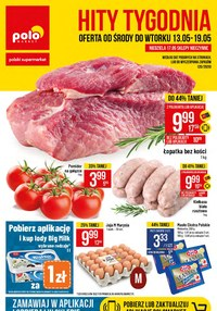 Gazetka promocyjna POLOmarket - Hity Tygodnia w sklepach Polomarket - ważna do 19-05-2020
