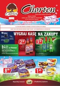 Gazetka promocyjna Chorten - Chorten - wygraj kasę na zakupy - ważna do 27-05-2020