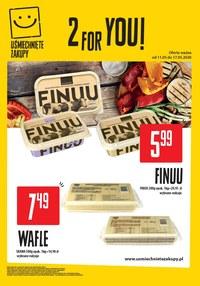 Gazetka promocyjna Uśmiechnięte zakupy - Więcej dla Ciebie w Uśmiechnięte zakupy! - ważna do 17-05-2020