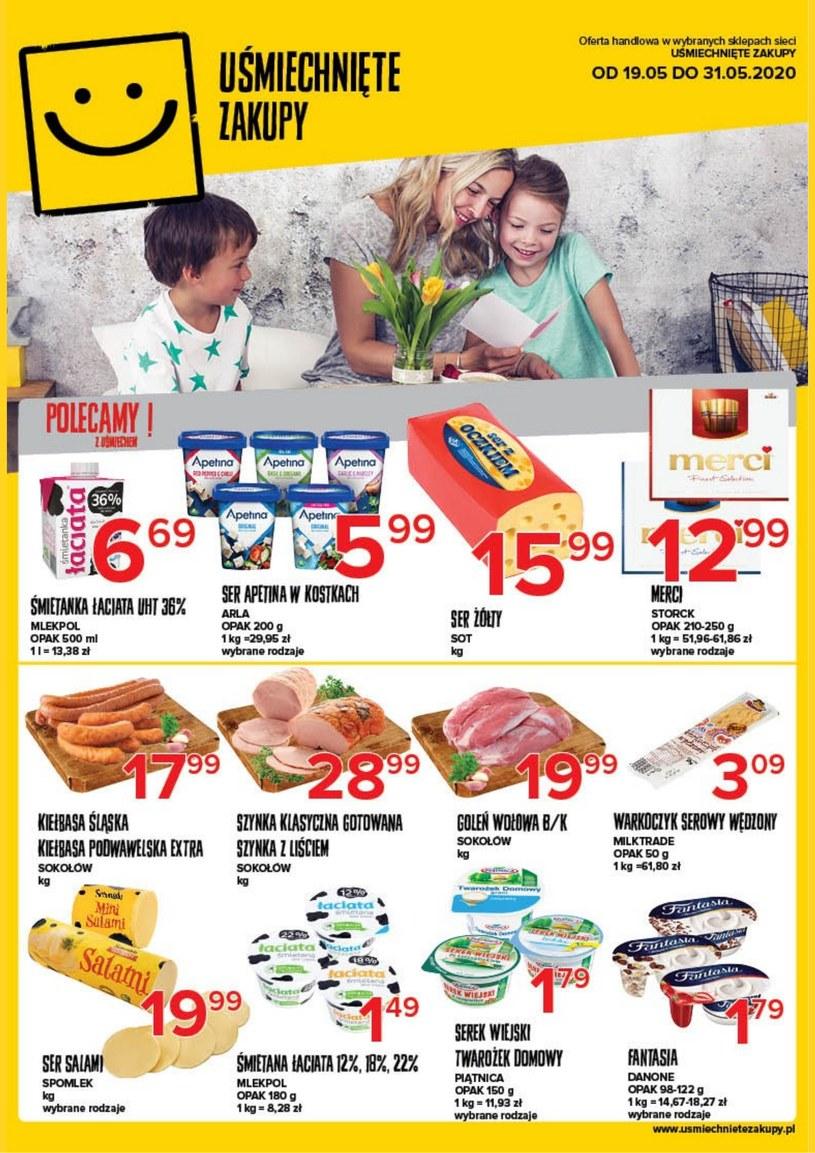 Gazetka promocyjna Uśmiechnięte zakupy - ważna od 19. 05. 2020 do 31. 05. 2020