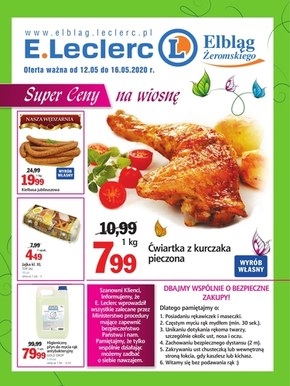 Promocje w sklepach E.leclerc