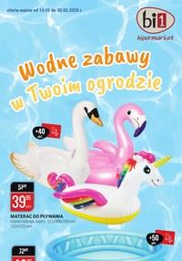 Gazetka promocyjna bi1 - Wodne zabawy w ogordzie z bi1 - ważna do 30-05-2020