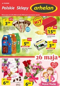 Gazetka promocyjna Arhelan - Promocje w sklepach Arhelan - ważna do 23-05-2020