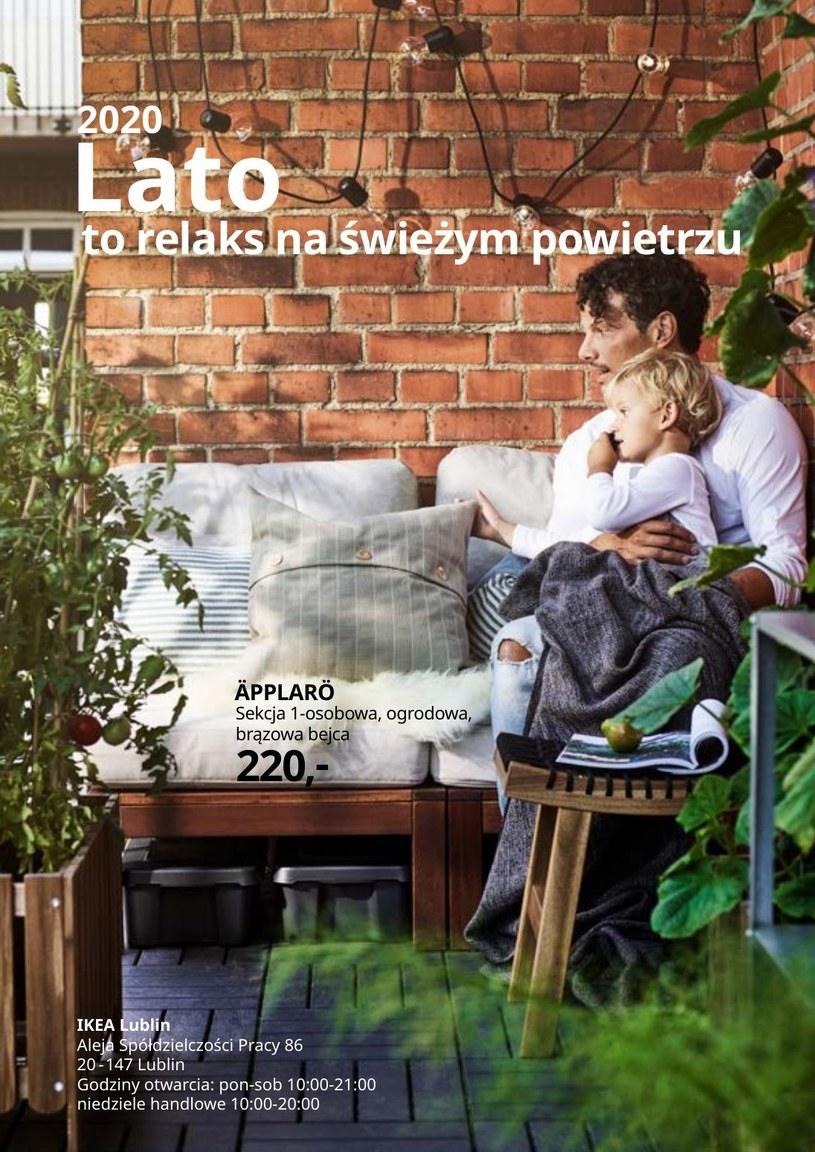 Gazetka promocyjna IKEA - ważna od 12. 05. 2020 do 31. 08. 2020