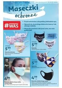 Gazetka promocyjna Auchan Hipermarket - Maseczki ochronne w Auchan! - ważna do 24-05-2020