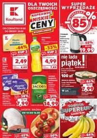 Gazetka promocyjna Kaufland - Super wyprzedaże w Kauflandzie - ważna do 20-05-2020