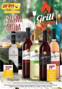 Gazetka promocyjna Prim Market - Czas na grilla - oferta alkoholowa Prim Market - ważna do 31-05-2020