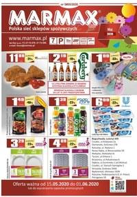 Gazetka promocyjna Marmax - Promocje w sklepach Marmax - ważna do 01-06-2020