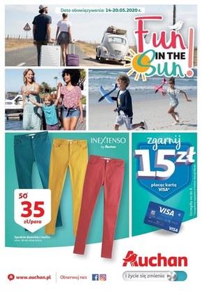 Letnie promocje w Auchan Hipermarket