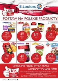 Gazetka promocyjna E.Leclerc - Postaw na polskie produkty! - E.leclerc  - ważna do 25-05-2020