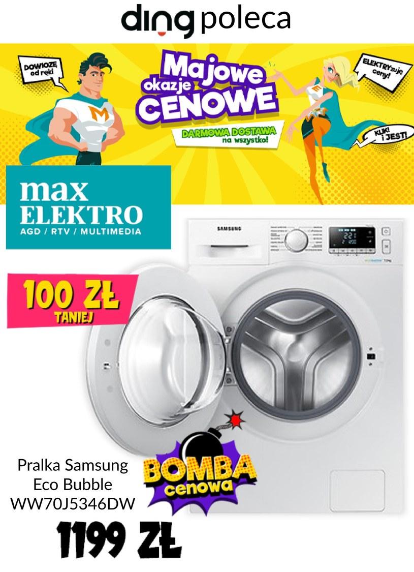 Gazetka promocyjna Max Elektro - wygasła 4 dni temu