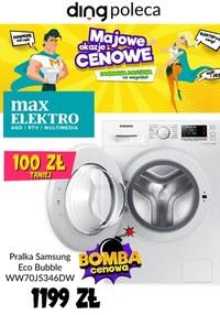 Gazetka promocyjna Max Elektro - Bombowe ceny w Max Elektro - ważna do 27-05-2020