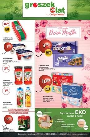 Promocje na Dzień Matki w sklepach Groszek