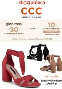 Gazetka promocyjna CCC - Promocje Gino Rossi w CCC - ważna do 17-05-2020