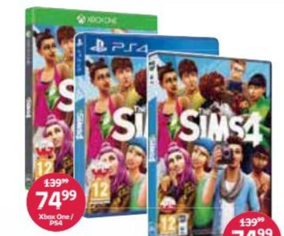 The Sims 4 niska cena