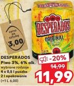 Piwo Desperados 20 Taniej Promocja Kaufland Ding Pl