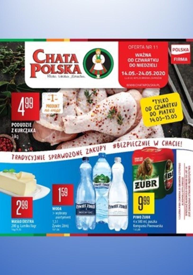 Gazetka promocyjna Chata Polska - wygasła 6 dni temu