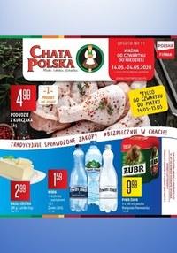 Gazetka promocyjna Chata Polska - Tradycyjne zakupy w Chacie Polskiej!  - ważna do 24-05-2020