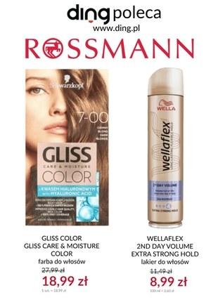 Gazetka promocyjna Rossmann - Strefa promocji w Rosmanie