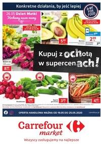 Gazetka promocyjna Carrefour Market - Oferta spożywcza Carrefour Market! - ważna do 25-05-2020