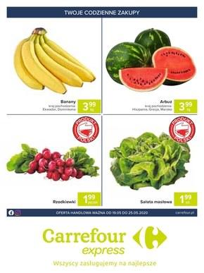 Świeże produkty w Carrefour Express