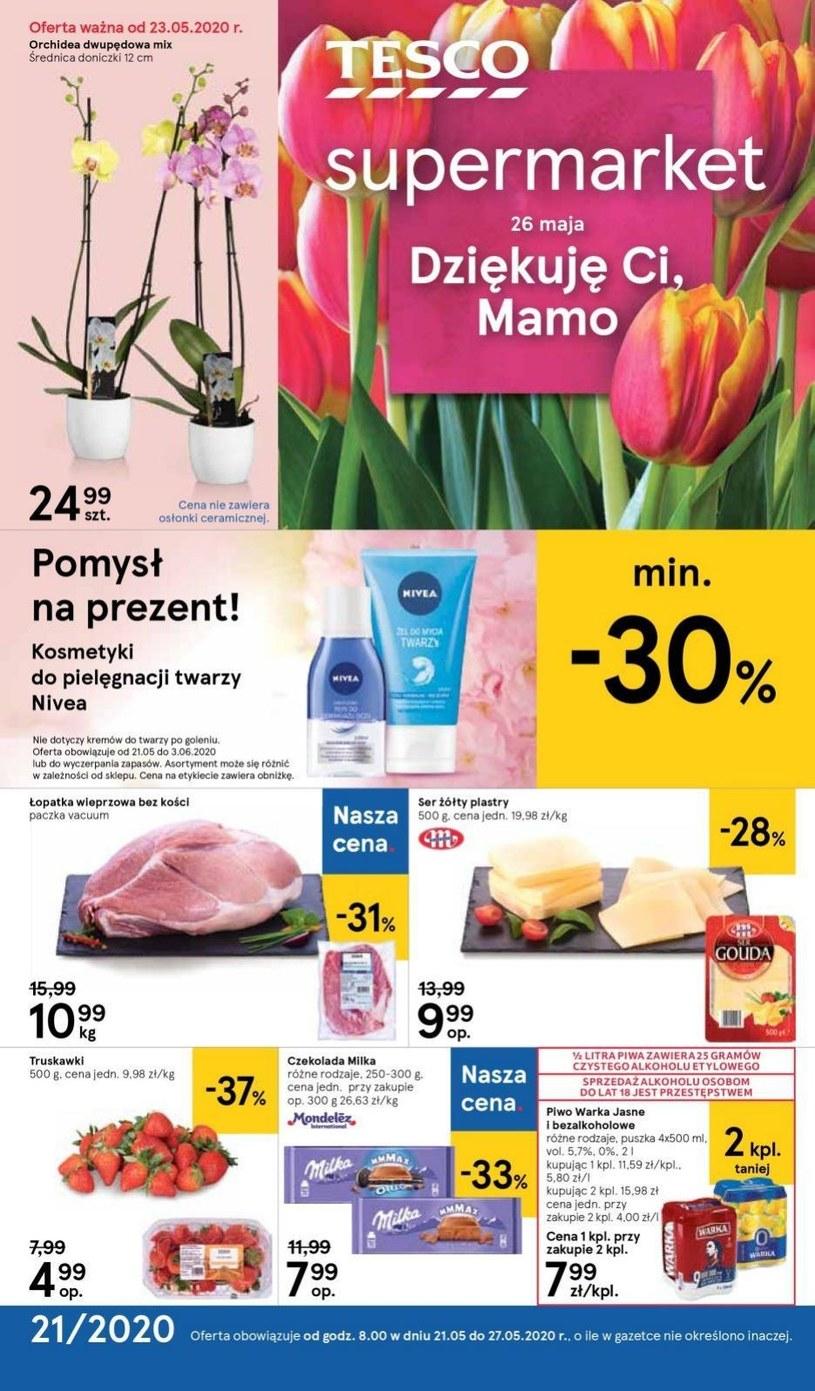 Gazetka promocyjna Tesco Supermarket - ważna od 21. 05. 2020 do 27. 05. 2020