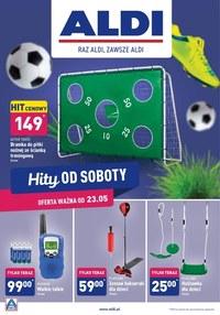 Gazetka promocyjna Aldi - Hity od Soboty w Aldi!  - ważna do 30-05-2020