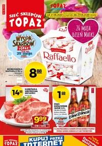Gazetka promocyjna Topaz - Najnowsze promocje sieci Topaz - ważna do 27-05-2020