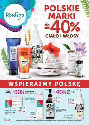 Polskie marki w promocji w Kontigo!