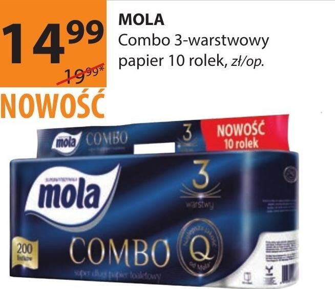 Papier toaletowy Mola niska cena