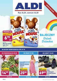 Gazetka promocyjna Aldi - Bajeczny Dzień Dziecka w Aldi  - ważna do 30-05-2020