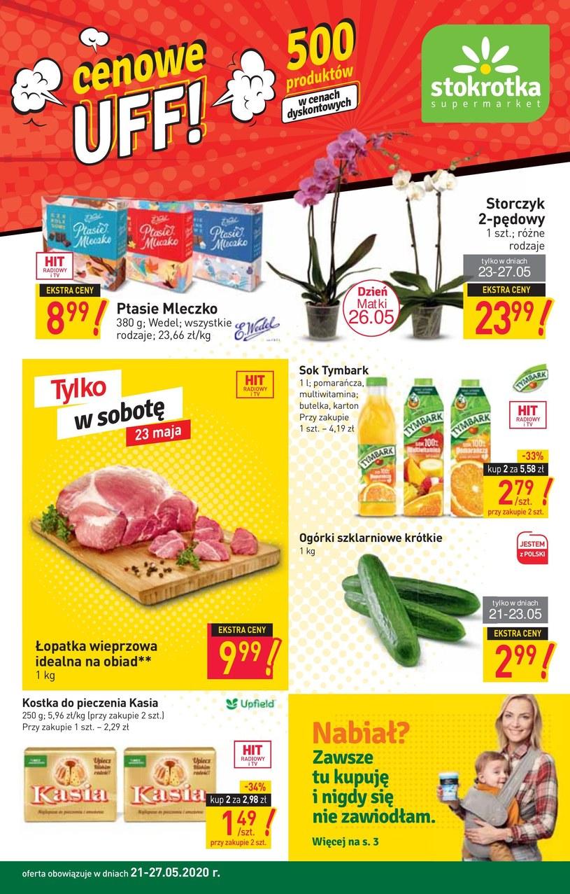 Gazetka promocyjna Stokrotka Supermarket - ważna od 21. 05. 2020 do 27. 05. 2020