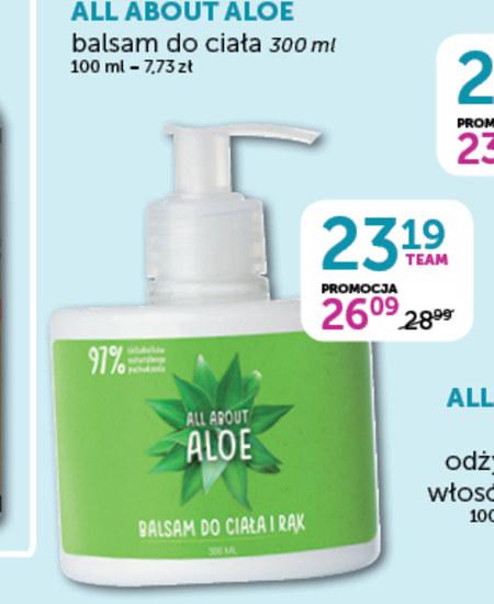 Balsam do ciała All About Aloe