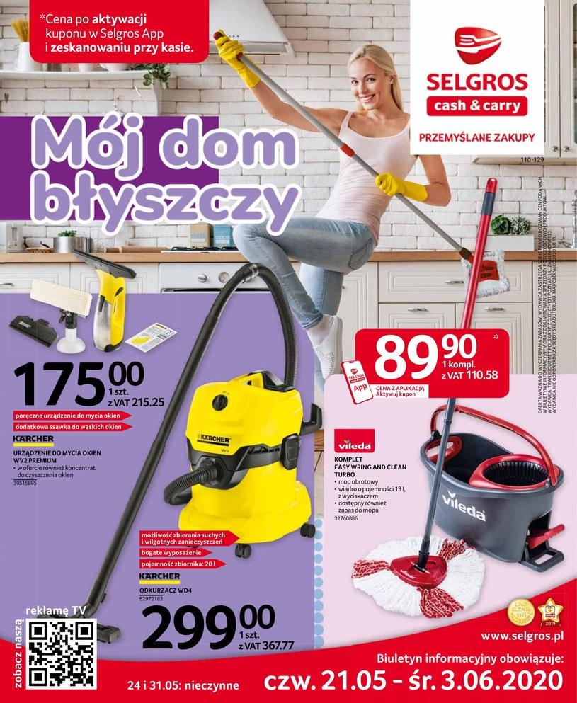 Gazetka promocyjna Selgros Cash&Carry - ważna od 21. 05. 2020 do 03. 07. 2020