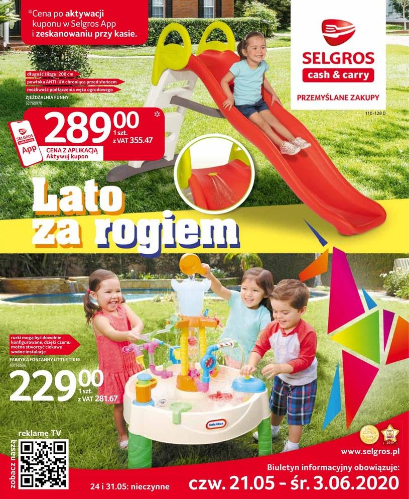 Gazetka promocyjna Selgros Cash&Carry - ważna od 21. 05. 2020 do 03. 06. 2020
