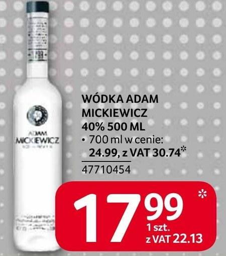 Wódka Adam Mickiewicz