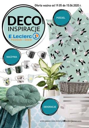 Gazetka promocyjna E.Leclerc - Deco inspiracje w E.leclerc Poznań