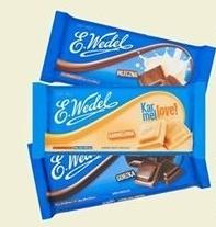 Czekolada E. Wedel niska cena