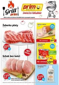 Gazetka promocyjna Prim Market - Świeżo i lokalnie w Prim Market - ważna do 27-05-2020