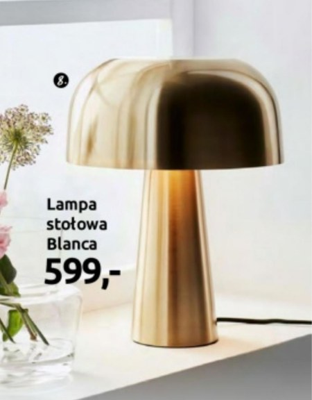 Lampa Black Red White
