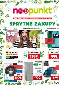 Gazetka promocyjna NEOPUNKT - Sprytne zakupy w Neopunkt! - ważna do 02-06-2020