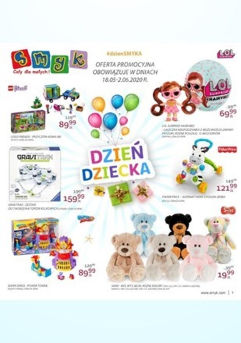 Gazetka promocyjna Smyk - ważna od 18. 05. 2020 do 02. 06. 2020
