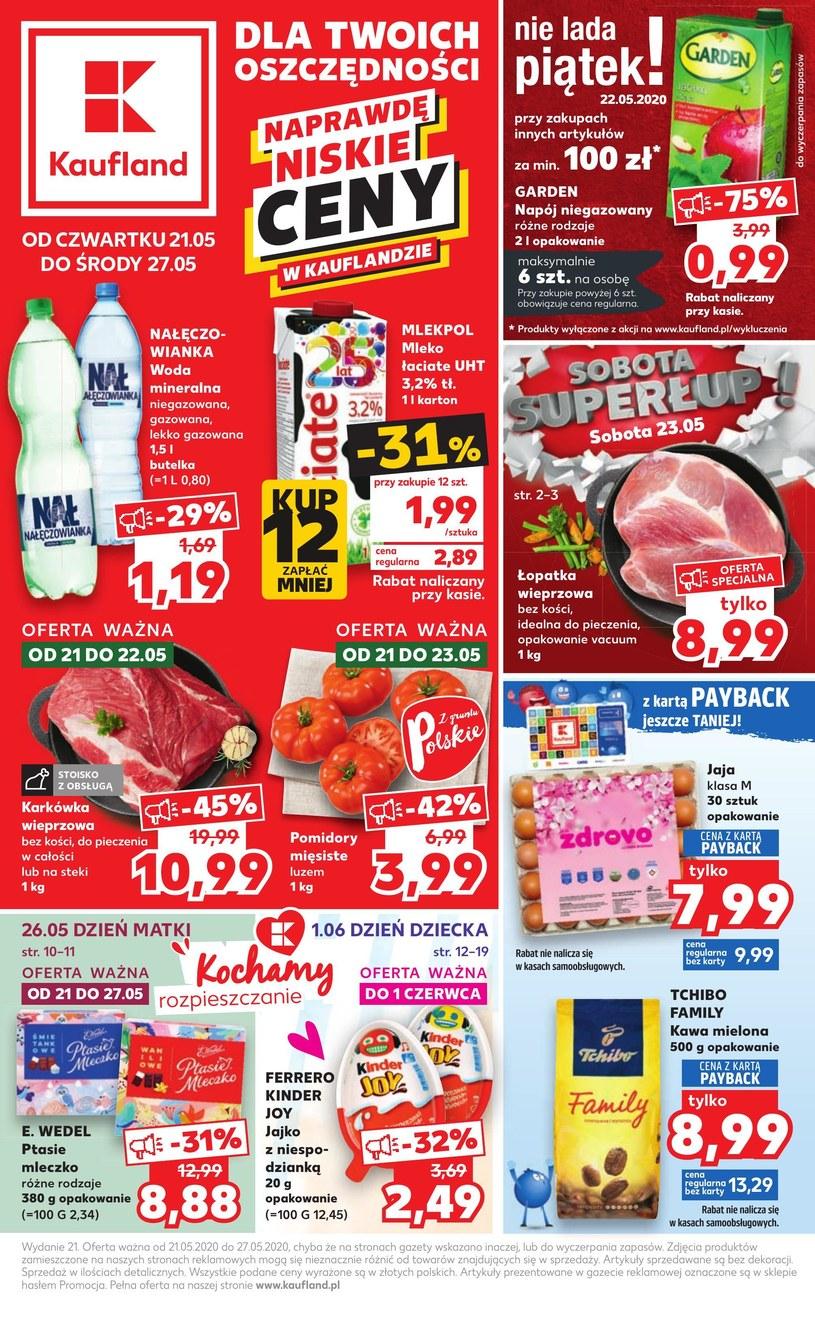Gazetka promocyjna Kaufland - ważna od 21. 05. 2020 do 27. 05. 2020