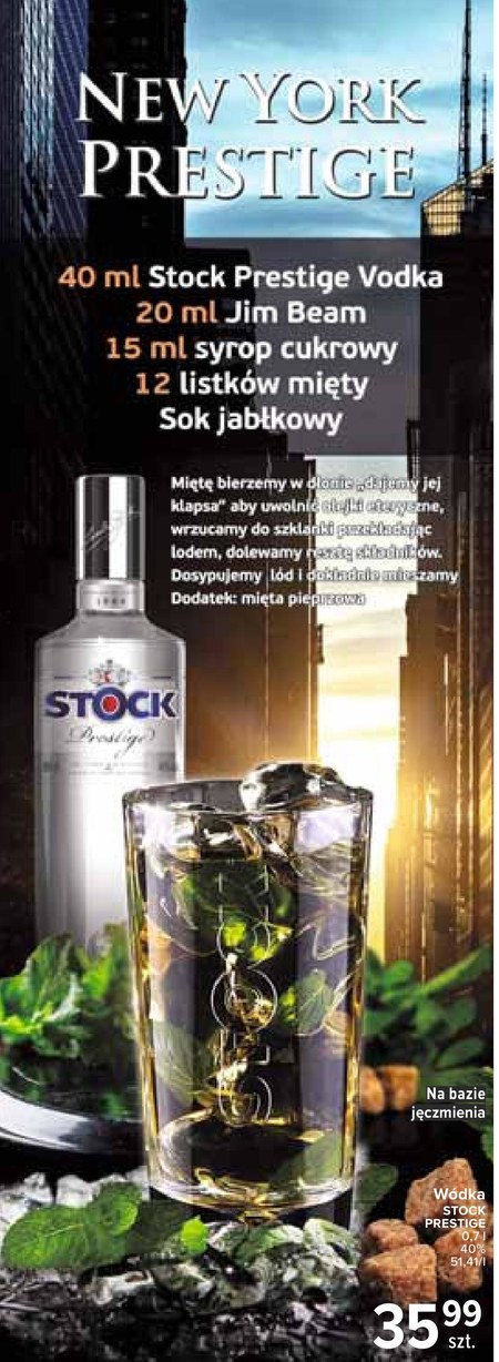 Wódka Stock