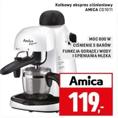 Ekspres do kawy CD1011 Amica