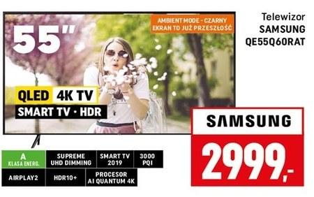 Telewizor QLED QE55Q60RAT Samsung